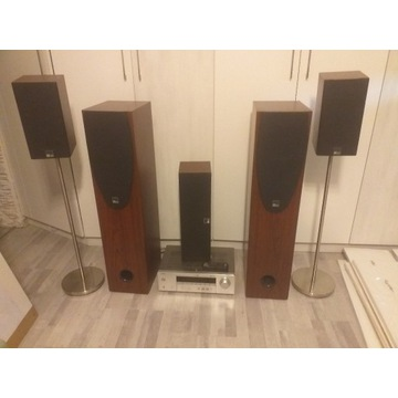 AMPLITUNER YAMAHA RX-V357 + głośniki M Audio DC30