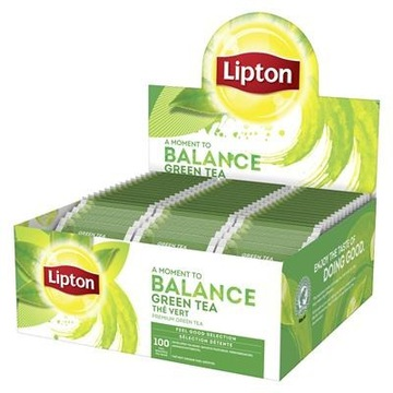 Lipton Balance Green Tea 100szt herbata zielona