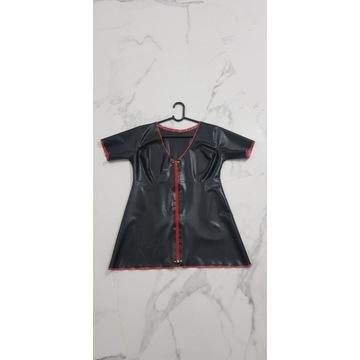bluzka top koszulka  100% latex guma producent