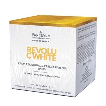 REVOLU C WHITE Krem redukujacy przebarwienia SPF30