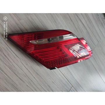 Lampa tylna, lewa, klapa bagażnika, e65/e66