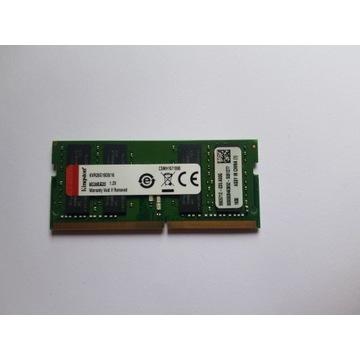 RAM Do laptopa 16GB 2666mhz DDR4 kingstone sodim
