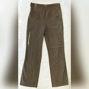 Spodnie ciążowe khaki C&A rozm. 36/38