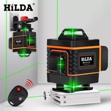 Poziomica laserowa Hilda 4d 360 stopni +pilot!!!