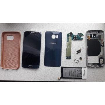 Samsung Galaxy S6 uszkodzony na części