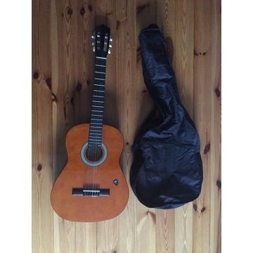 Gitara Klasyczna (kostka do gry + futerał)