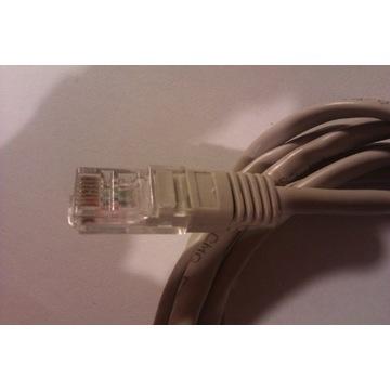 Kabel z wtykami 2x RJ45 długość 180cm