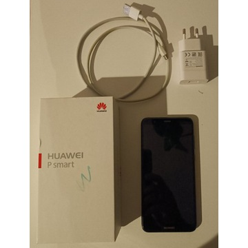 Huawei P Smart FIG-LX1, pęknięcie, 100% sprawny