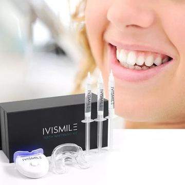 Zestaw do wybielania zębów z lampą LED IVISMILE
