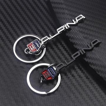 Brelok BMW Alpina czarny srebrny  brylok brelok