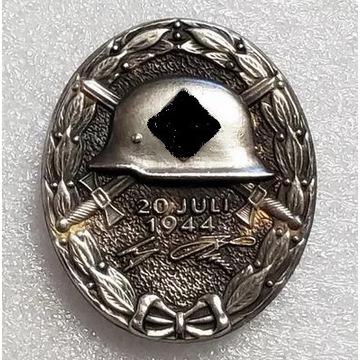 WW2 Niemiecka odznaka za rany II klasa, III Rzesza