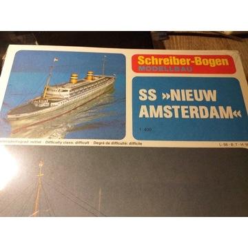SS Amsterdam pasażerski 1:400 Schreiber