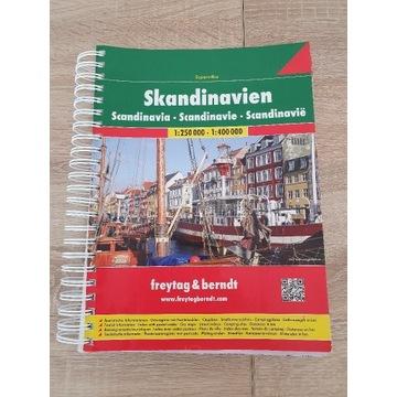 Skandynawia - mapy i atlas