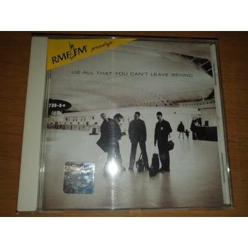U2 All you can't leave behind płyta CD