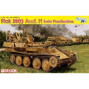 Flak 38(T) Ausf. M Late Production  DRAGON 6590