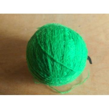Włóczka zielona