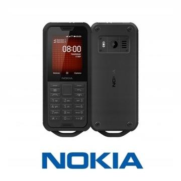ODPORNY Telefon NOKIA 800 Tough Dual Sim Czarny