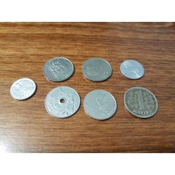 Licytacja monet zagranicznych od 1 zł  7 monet