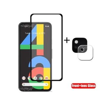 Google Pixel 4a - szkło hartowane front + aparat