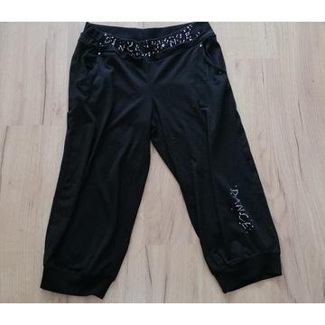 spodnie dresowe 3/4 używane noszone fetysz