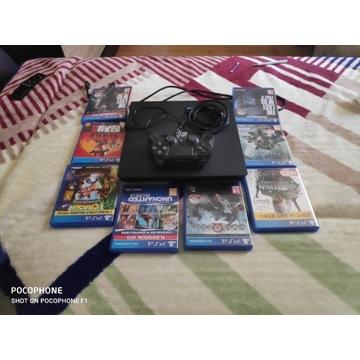 PlayStation 4 pro + 40 gier