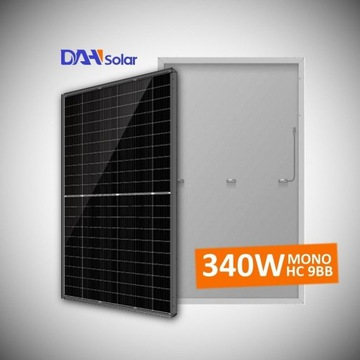 Panele fotowoltaiczne DAH Solar 340W  Czarna rama