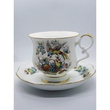 Porcelana Vintage Anglia filiżanka Royal Ascot