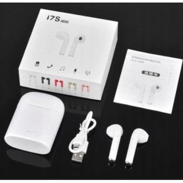 Słuchawki bezprzewodowe I7s TWS