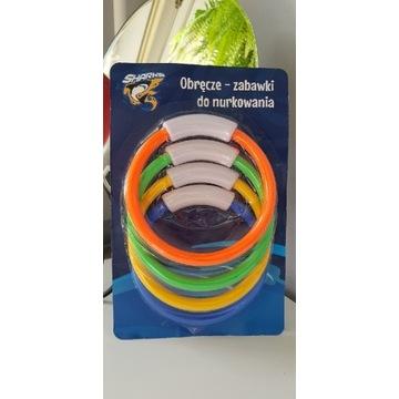 Obręcze koła kółka - zabawki do nurkowania