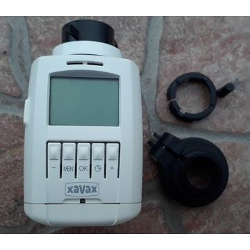 Termostat grzejnikowy regulator Xavax biały