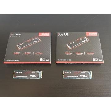 Para dysków SSD 2x PNY CS3030 500GB (1TB) M.2 NVMe