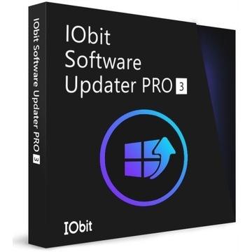 IObit Software Updater 3 PRO KLUCZ 3 PC - 12 MS