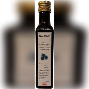 Olej z czarnuszki zimnotłoczony 250ml Oleovital