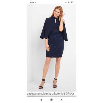 Sukienka Orsay S koronka nowa