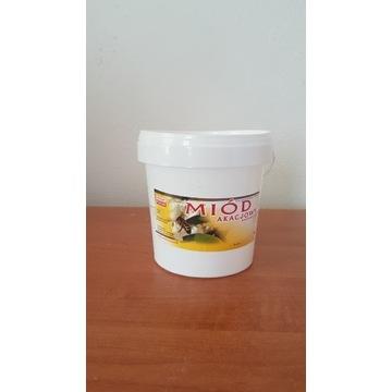 Miód Pszczeli Akacjowy wiadra 1 kg