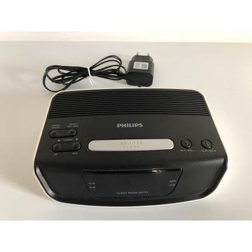 Radio budzik Philips AJ3123/12, bardzo dobry stan