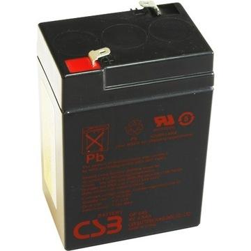 Akumulator GP 645  6V 4,5Ah  FV