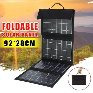 Przenośny panel solarny 40W składany turystyczny