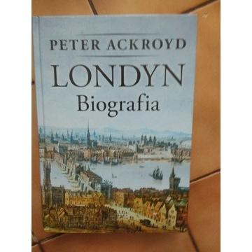 Londyn biografia Ackroyd