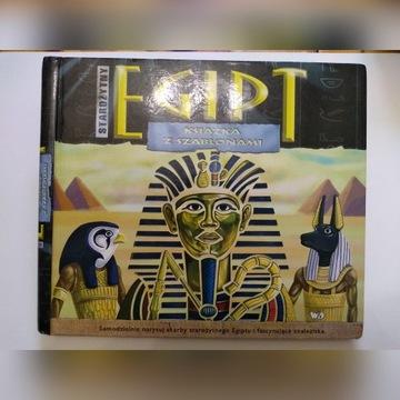 Starożytny Egipt książka z szablonami
