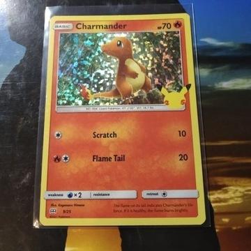 Karta pokemon HOLO 9/25 Charmander McDonalds