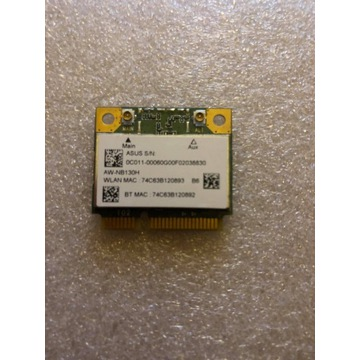 KARTA WI-FI AZUREWAVE ATH AR5B195 802.11N + BT