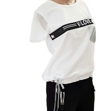 Biała bluzka Combi rozmiar S