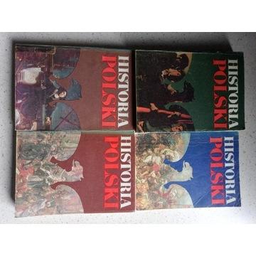 Historia Polski 4 książki