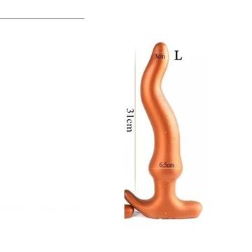 Miękki duży korek anal Dildo BDSM butt plug xxl