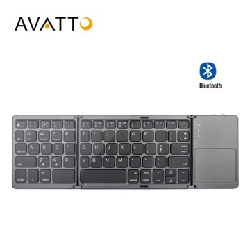 Klawiatura Składana Mini AVATTO Bluetooth Touchpad