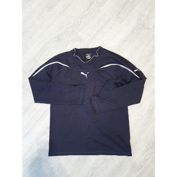 Granatowa koszulka z długim rękawem Puma L xl