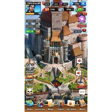 Konto Empires and puzzles / Empires & puzzles 50