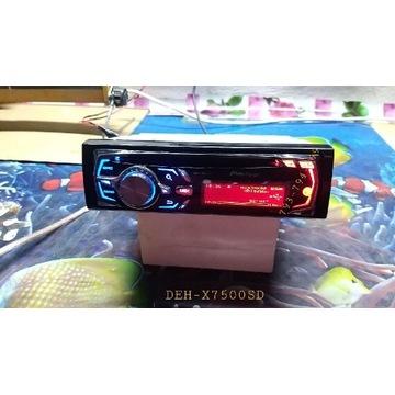 Radio Pioneer DEH-X7500SD cd aux usb sb NOWE