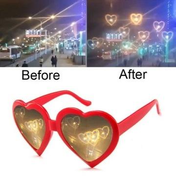 okulary w serca okulary w kształcie serca miłosne